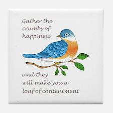 CRUMBS OF HAPPINESS Tile Coaster