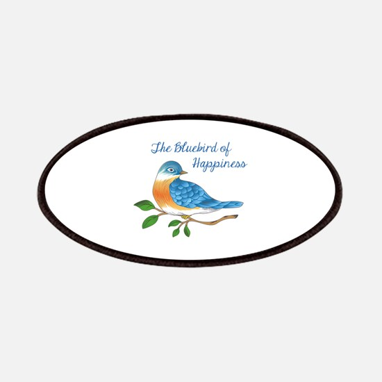 BLUEBIRD OF HAPPINESS Patches
