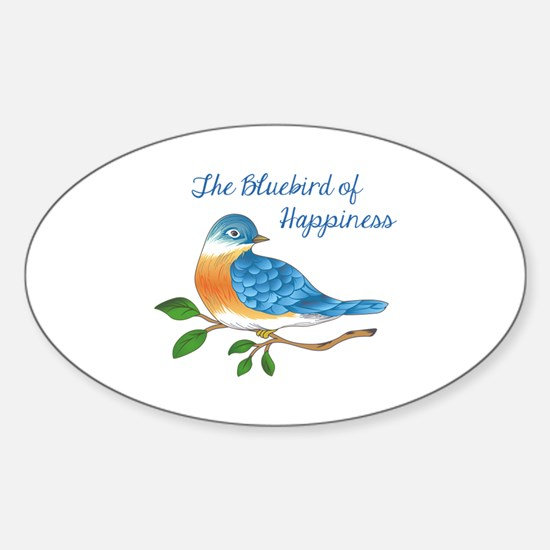 BLUEBIRD OF HAPPINESS Decal