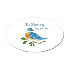 BLUEBIRD OF HAPPINESS Wall Decal