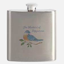 BLUEBIRD OF HAPPINESS Flask