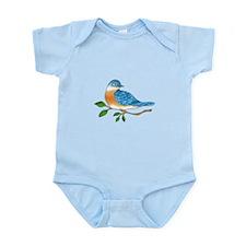 BLUEBIRD ON BRANCH Body Suit