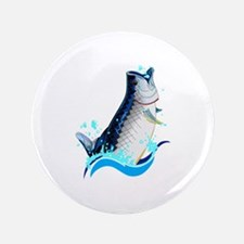 "TARPON FISH 3.5"" Button"
