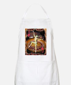 Lady Luck, casino gaming montage Apron