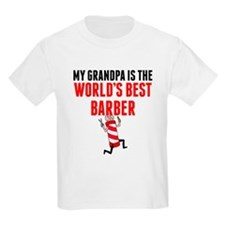 My Grandpa Is The Worlds Best Barber T-Shirt