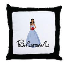 Adriana's Bridesmaid Throw Pillow