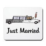Just Married Stretch Mousepad