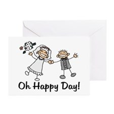 Oh Happy Day Greeting Cards (Pk of 10)