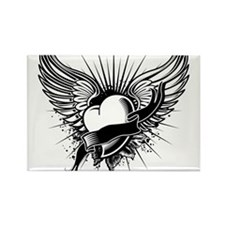 Funny Angel wings Rectangle Magnet