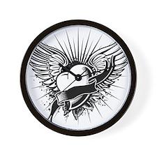 Cute Angel wings Wall Clock