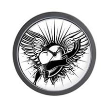 Cute Rock angel Wall Clock