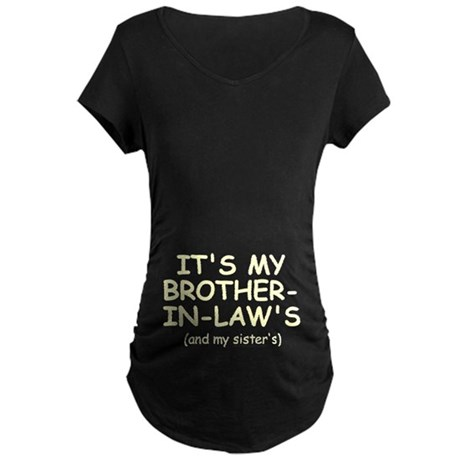 My B-I-L's Baby Maternity Dark T-Shirt