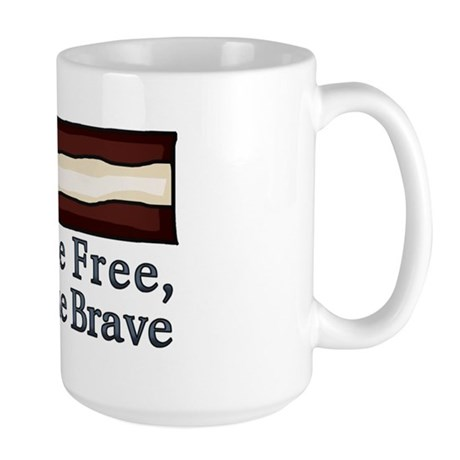 Home of the Free Large Mug