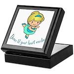 Dance Hearts Keepsake Box