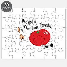 ONE TON TOMATO Puzzle