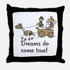 Wedding Carriage Throw Pillow