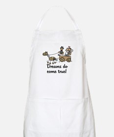 Wedding Carriage BBQ Apron