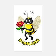 Bumblebee Rectangle Decal