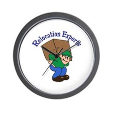 RELOCATION EXPERTS Wall Clock
