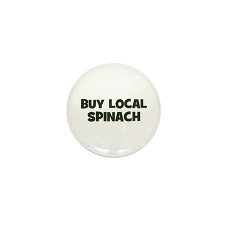 buy local spinach Mini Button (100 pack)