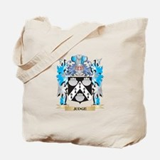 Judge Coat of Arms - Family Crest Tote Bag