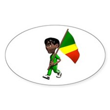 Congo Boy Oval Decal