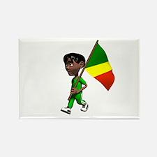 Congo Boy Rectangle Magnet