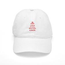 Keep calm we live in Paxton Illinois Baseball Cap