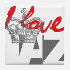I LOVE AZ Tile Coaster