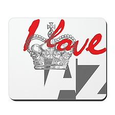I LOVE AZ Mousepad
