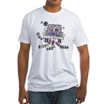 Wedding Car Fitted T-Shirt