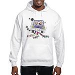 Wedding Car Hooded Sweatshirt