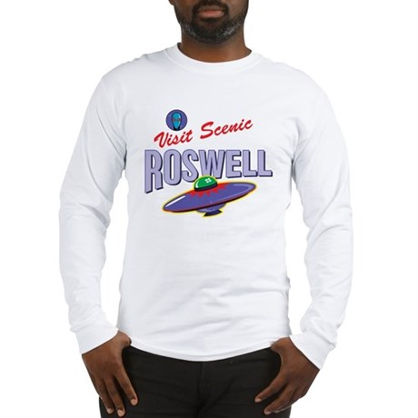 Visit Scenic Roswell - Long Sleeve T-Shirt
