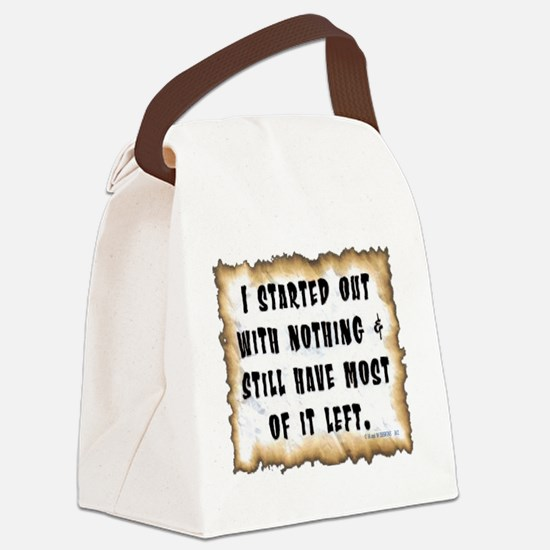 I started with.png Canvas Lunch Bag