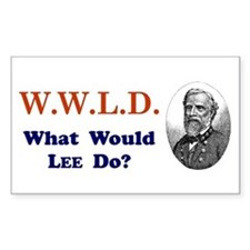 What would LEE Do Rectangle Decal