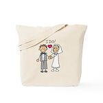 I Do Couple Tote Bag