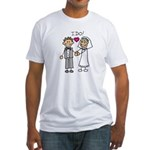 I Do Couple Fitted T-Shirt