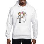 I Do Couple Hooded Sweatshirt