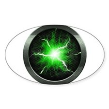 Borg Regeneration Disc Oval Decal