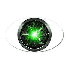 Borg Regeneration Disc 22x14 Oval Wall Peel