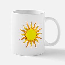 Grunge Sun Mugs