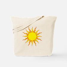 Grunge Sun Tote Bag