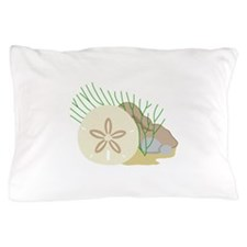 SAND DOLLAR ON OCEAN FLOOR Pillow Case