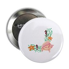 "SEA LIFE CORNER BORDER 2.25"" Button (10 pack)"