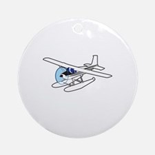 BUSH AIRPLANE Ornament (Round)