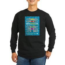Dixie Swim Club Show Poster Long Sleeve T-Shirt