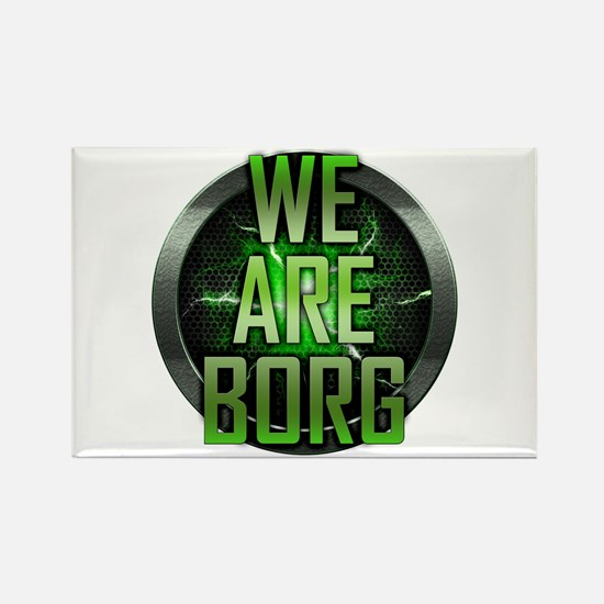 We Are Borg Rectangle Magnet