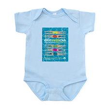 Unique Swim club Infant Bodysuit