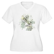 Je Taime' Plus Size T-Shirt