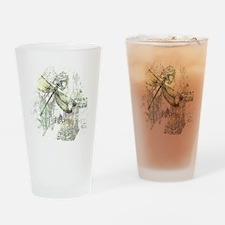 Je Taime' Drinking Glass